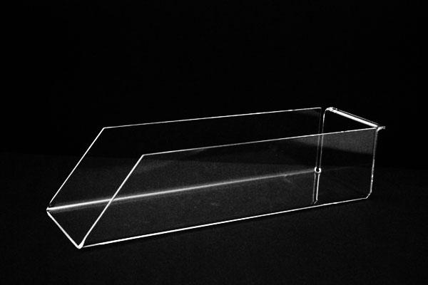 bac couvert plexi transparent