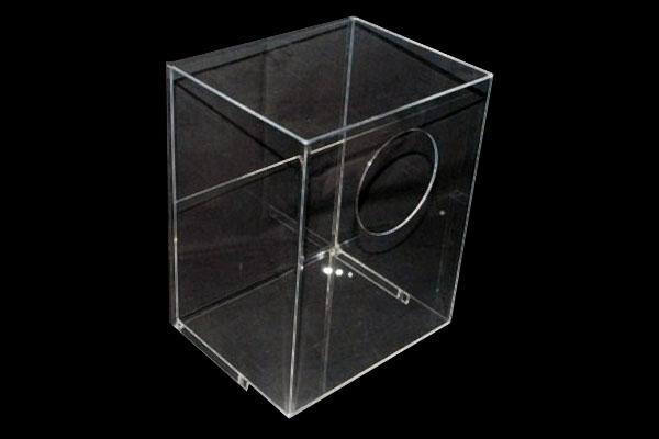 boite plexi transparent