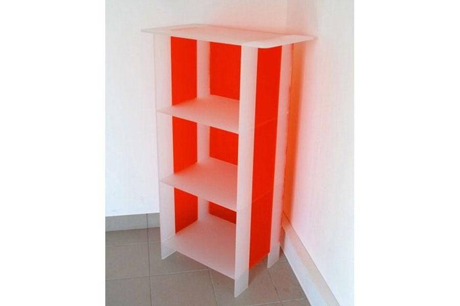 meuble plexi bi couleur